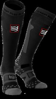 Full Socks Detox Recovery - Ironman MDot - SVART - T1 (34-39)