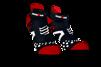 ProRacing Socks V2.1 Run Low - Ironman Mdot - SVART - T3