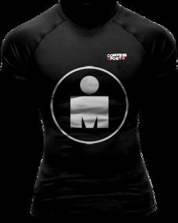 Running T-shirt - Ironman Mdot - SVART - S