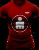 Running T-shirt - Ironman Mdot - RÖD - XL