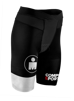 TR3 Brutal Tri Compression Short W - Ironman Stripes - SVART - L