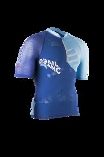 Ultra Trail Running Shirt Man - UTMB 2016 - BLUE S
