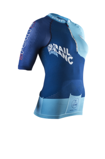 Ultra Trail SHIRT Woman - UTMB 2016 - BLUE - XS