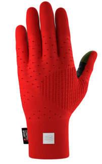 3D THERMO RUNNING GLOVE - RED - L/XL