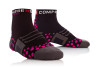 Pro Racing Sock Run High - SVART/ROSA T5 (strl 46-48)