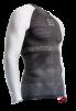 ON/OFF Multisport Shirt UniSex - Longsleeve Grey/White XL