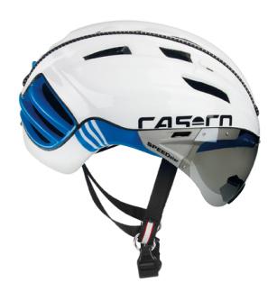 Casco Hjälm SPEEDster TC-Plus - Vit/blå Storlek L (59-63 cm)