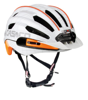 Casco Hjälm FULL Air - Vit/orange One Size (56-59 cm)
