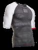 ON/OFF Multisport Shirt Shortsleeve - Grå/Vit XL
