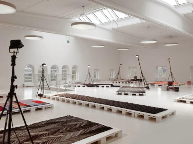 Re Rag Rug exhibition at Färgfabriken 2013