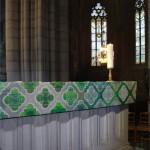 Altar frontlet, Uppsala Cathedral 2016