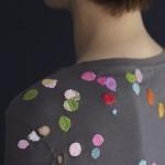 Darned t-shirt, Hemslöjdens förag 2019. Photo: Karin Björkquist