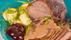Slottstek med prssgurka och rödavinbärs géle recept-4852