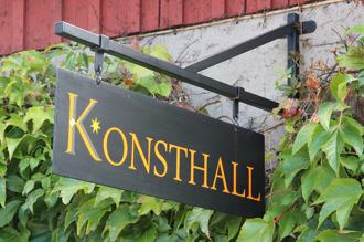 Ny skylt till Krapperups konsthall