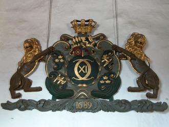 Carl XI:s namnchiffer från 1689 påminde om att Arild tillhörde Sverige och inte Danmark