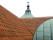 Nyomlagda tak Barsebäcks kyrka