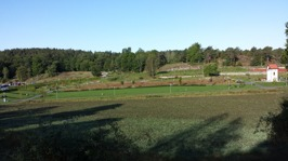 En till bild som visar hur området ser ut idag.