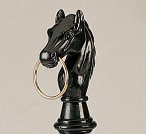 Hästhuvud för dekoration
