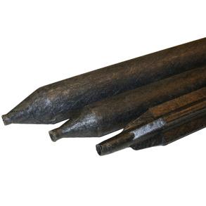 Muovixstolpe 2/1,8 m Mörkgrå