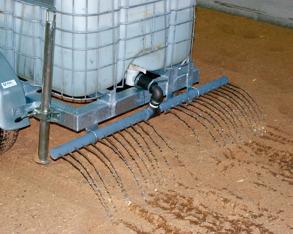 Vattenspridare till Vattentank