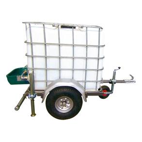 Vattentank 1000 L på hjul