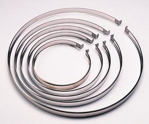 Skarvband till ventilationstrumma