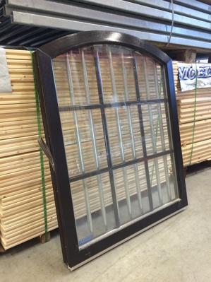 Kompositfönster 10x10,67x12 Brun/svart Fast