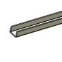 Plastplanka - Utfyllnadsprofil 44 mm till 32 mm L=1140 mm