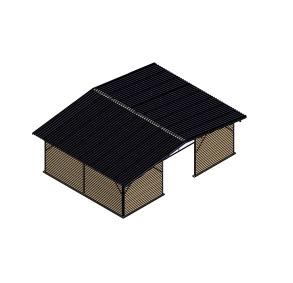 Ligghall 8,65x6,15 m - 52 m²