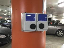 Installation i garage på St Eriksplan