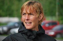 En koncentrerad tävlingsledare Vårruset Östersund