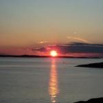 Solnedgång dag 2