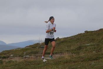 Sofia Myhr, på väg mot ny rekordtid