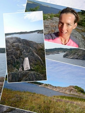 Morgonpass på klipporna, hittar även lite skog och stig här :-)