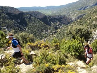 Bergslöpning i Pyrenéerna, något att längta till...