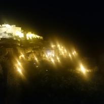 Godnatt Alquézar, sk aförsöka sova efter en fantastisk dag i bergen.