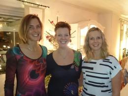 Firade jul med hela familjen. Här är systrarna Gavelin julen 2015 :-)