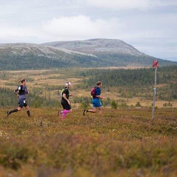 Ännu med pigga ben, löparupplevelse med fjällmaraton