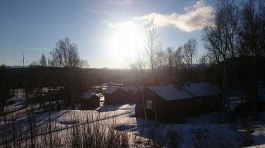 En fantastisk vinterlördag i Vålådalen