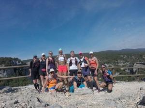 Trail Camp Alquézar 2017(saknar Raul och Santi). Ni är fantastiska!