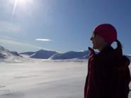 """Ser fram emot den """"femte årstiden"""" med sol i fjällen, skidor och solgrop."""