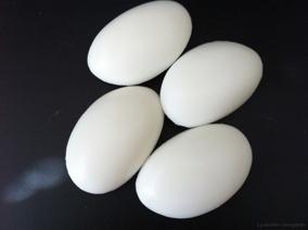 Liten gåsäggstvål med mjölk 75 g - Små gåsäggstvålar, mjölk 75 gr.