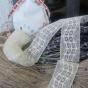 En fin antik tyllspets, oanvänd!