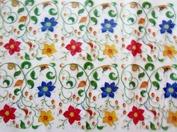 Vårt vackra silkepapper som vi slår in alla våra njutbara tvålar i.