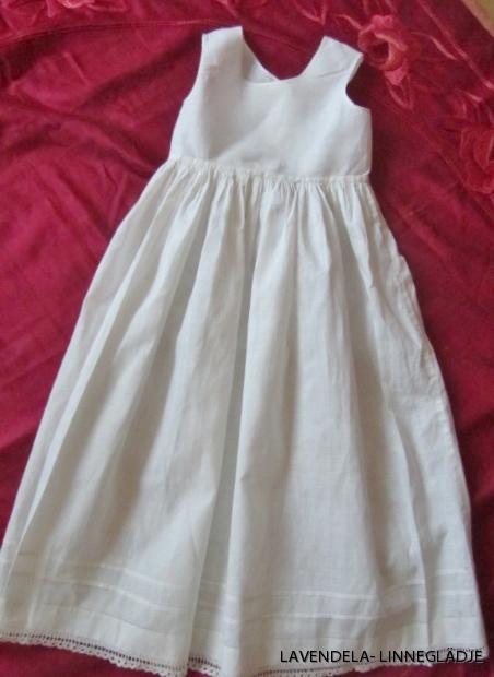 En fina underklänning!