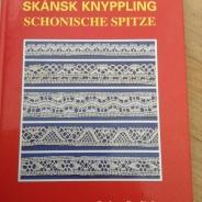 En bok om Skånsk Knyppling. Wivi-Ann Nordström. Fint skick!