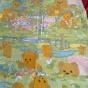 Sommarpris! Söta barngardiner i bomull. Design, fint skick! - Sommarpris! Söta barngardiner i härlig bomullskvalité.