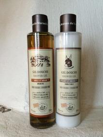 Ljuvliga duschcrémer i Argan olja och Åsnemjölk. - Flytande duschgel med arganolja.