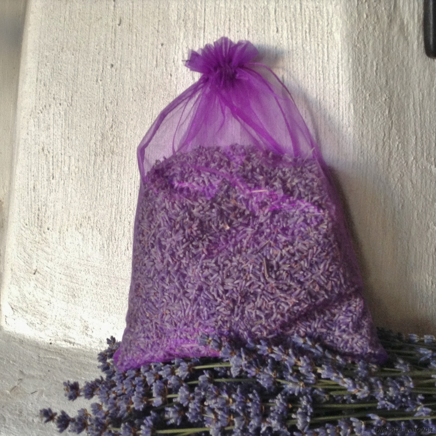 Organzapåse med 80 gr lavendel