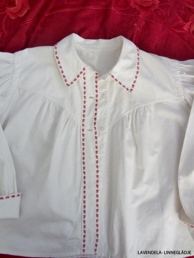 En fin bomullsskjorta